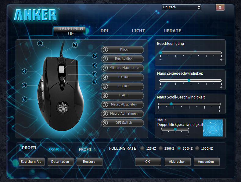 Anker Gaming Mouse Software