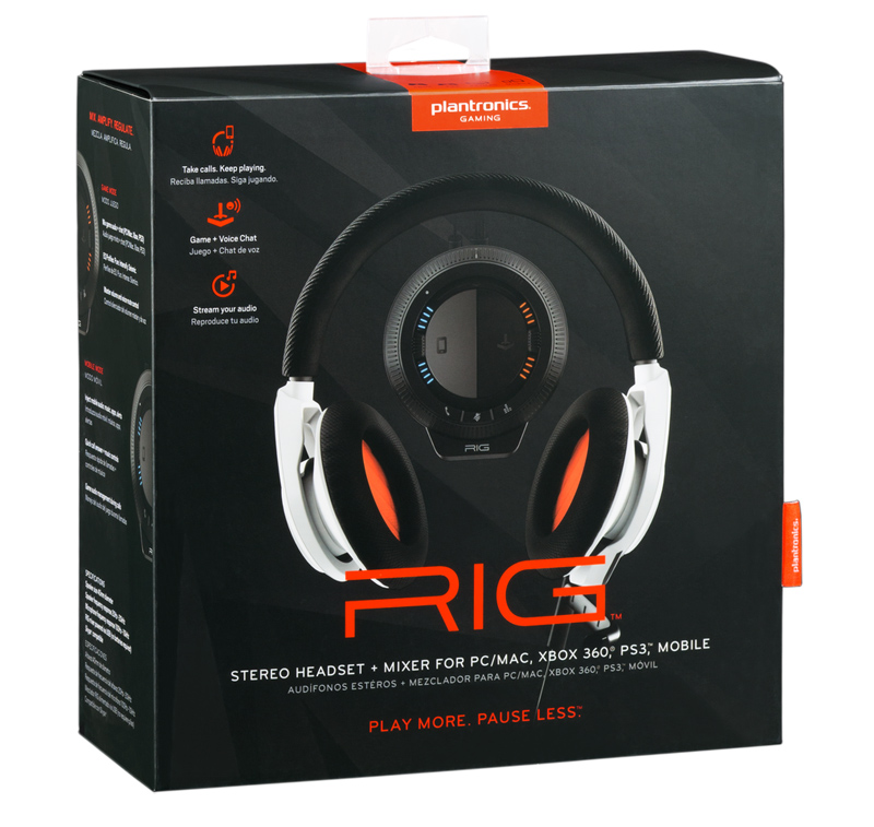 Plantronics RIG Verpackung